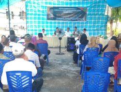 Reses Di Ponrang Selatan, Sulaeman Ishak Didampingi Wakil Ketua II Dan Ketua Komisi II DPRD Luwu