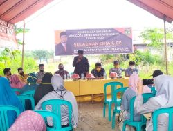 "Reses Anggota DPRD Fraksi PKS ""Sahabat Petani"" bersama Fraksi Gerindra, Sampaikan Permohonan Maaf."