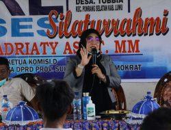 Reses Masa Sidang II, Fadriaty AS Serap Aspirasi Warga di Ponrang Selatan