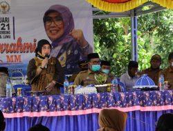 Fadriaty AS Gelar Reses, Para Kepala Desa se Kecamatan Suli dan Suli Barat Turut Hadir