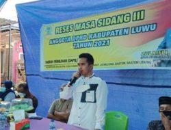 Reses, Wakil Ketua DPRD Luwu Serap Aspirasi Masyarakat di Belopa