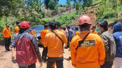 Tinjau Lokasi Bencana di Walmas, Kakansar Basarnas Ingatkan Anggotanya Agar Selalu Sigap