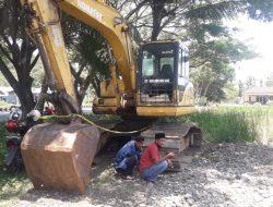 Polisi Sita Alat Berat Yang Diduga Milik Oknum Kadis di Luwu, Dugaannya Kelola Tambang Ilegal