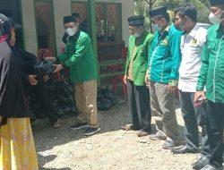Menjelang Muscab DPC PPP Luwu, Pengurus Salurkan Bantuan Kepada Korban Banjir Walenrang Utara