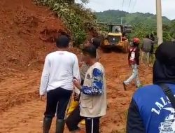 Akses Jalan Trans Luwu – Toraja Utara Yang Tertutup Longsor Mulai Dibuka