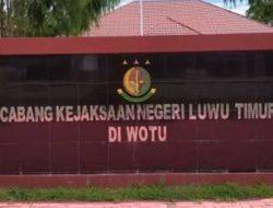 Oknum Anggota DPRD Lutim Mangkir Saat Dipanggil Penyidik Kejari Lutim