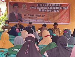 Reses Anggota DPRD Luwu, Sulaiman Ishak, Usulan Didominasi Dari Sektor Pertanian